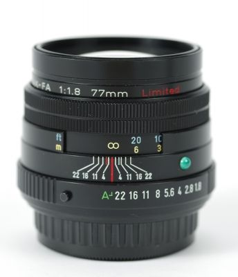 pentax fa 77mm f1.8 limited