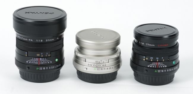 pentax fa limited family