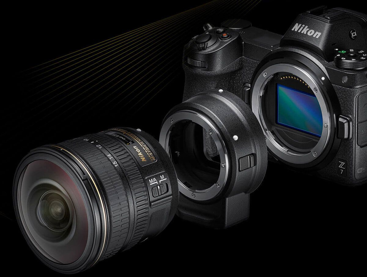 nikon z7 f-mount lenses